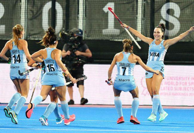 Las Leonas ganaron y están entre las mejores ocho del Mundial