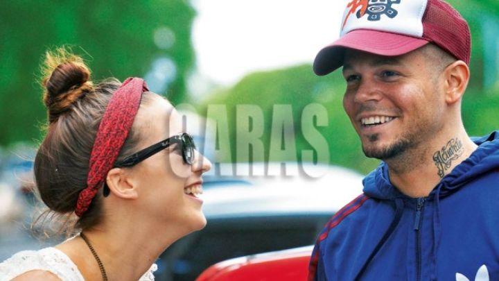 Fandiño ya fue: René Pérez presentó nueva novia