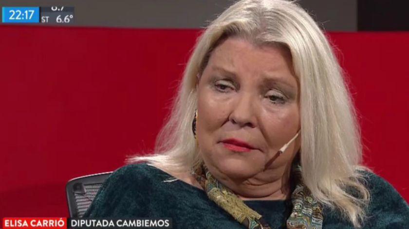 Peña desmintió a Carrió y aseguró que Macri no fue