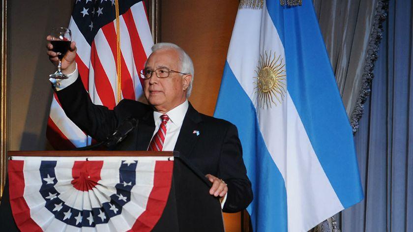 Transmitió un fuerte respaldo de Trump a Macri