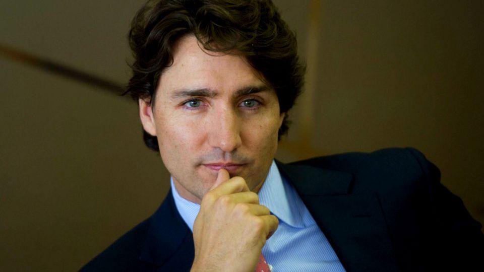 Justin Trudeau, primer ministro canadiense