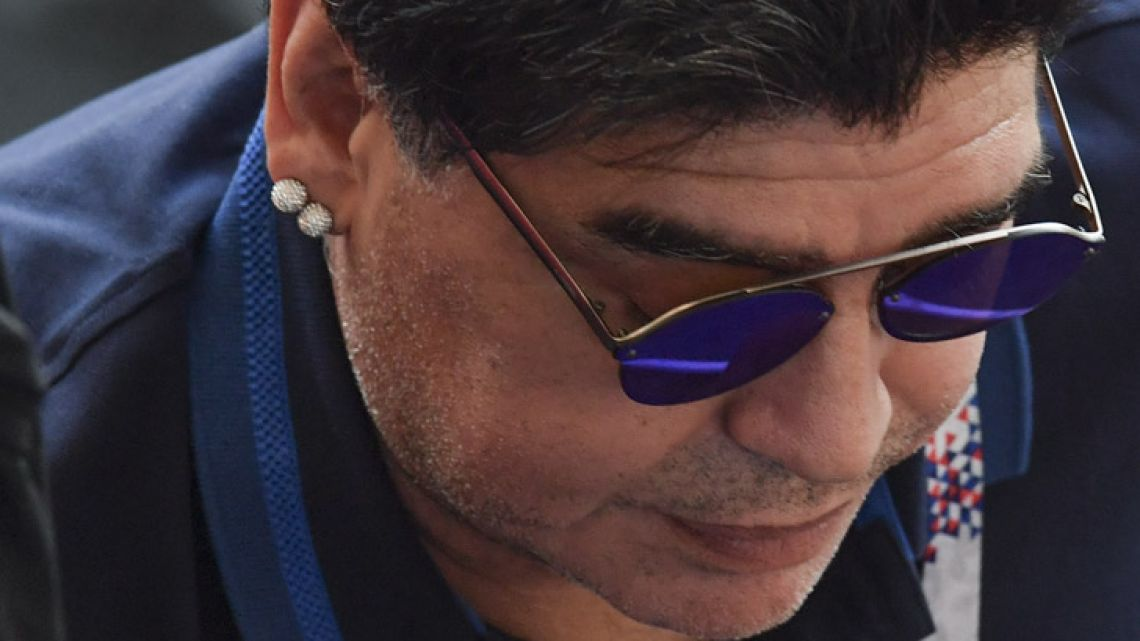 Diego Maradona wants to coach the Argentine national team, should Jorge Sampaoli be fired as coach.