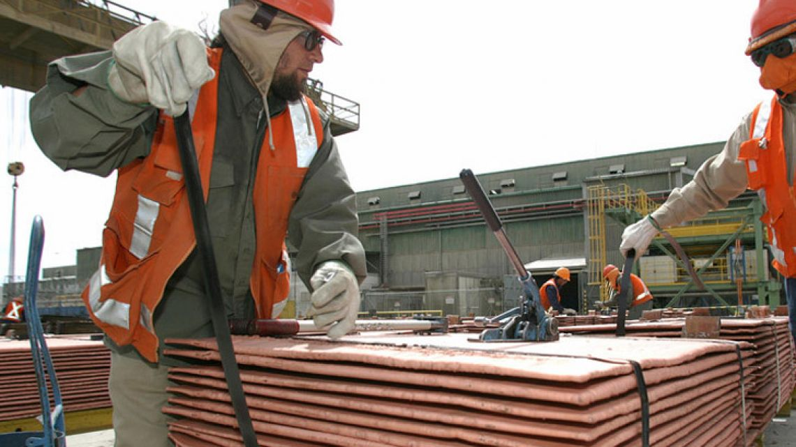 Copper fell to US$2.929 a pound, its lowest price since October last year.