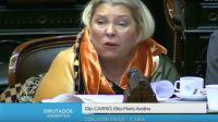 Elisa Carrió agustin rossi 20180705