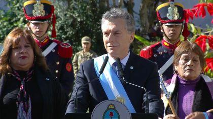 Mauricio Macri en San Miguel de Tucumán