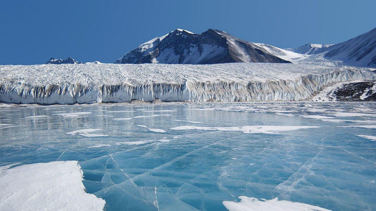 Hallaron en la Antártida el lugar más frío de la Tierra: 98 grados bajo cero.