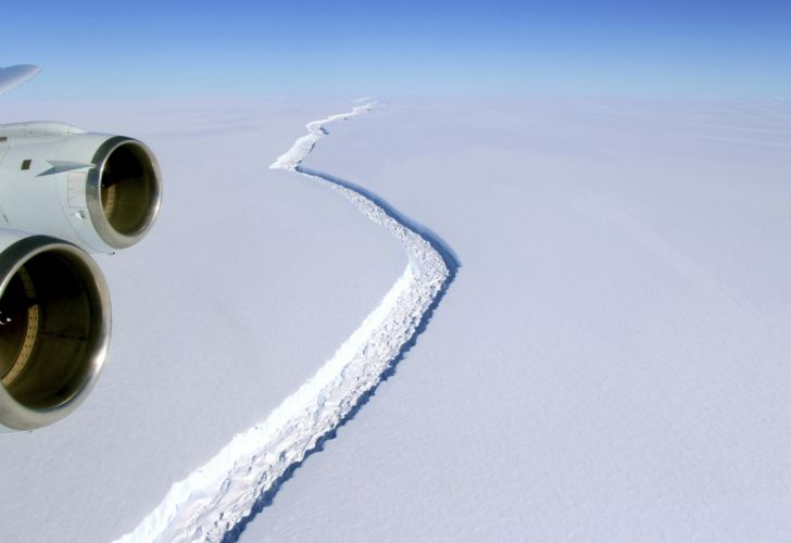 iceberg gigante antartida