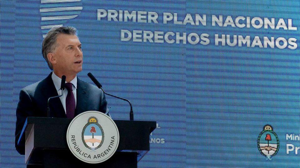Archivo. Mauricio Macri.