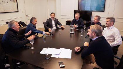 Macri se reúne con los gobernadores radicales