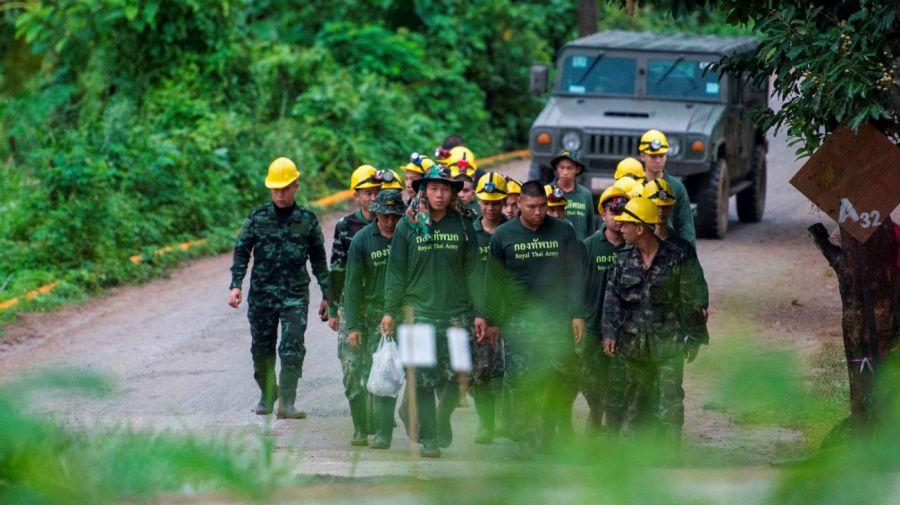 La tercera jornada de rescate va a avanzar con mayor lentitud.
