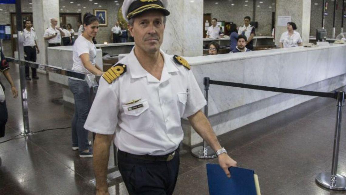 Navy Spokesman Enrique Balbi.