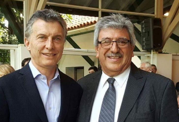 Mauricio Macri y Ramón Ayala de Uatre
