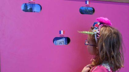 Frida y yo, exposición interactiva para chicos en la Usina del Arte.