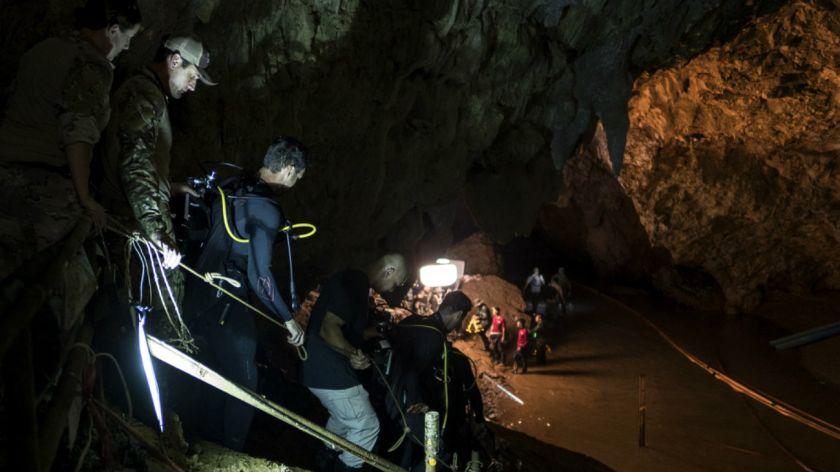¡Dos películas! tendría el sorprendente rescate de los 12 niños en Tailandia