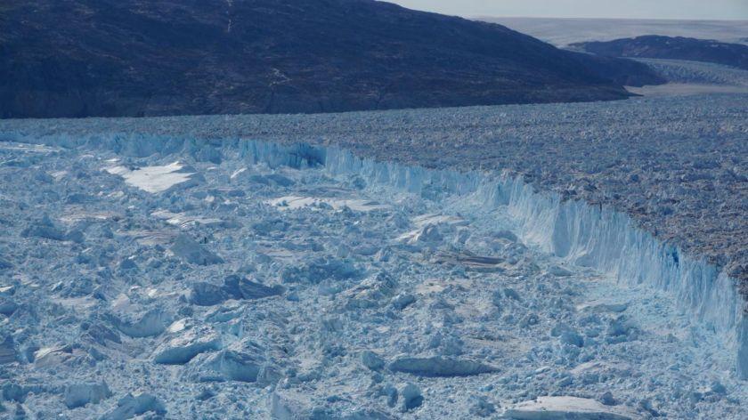 Se desprende iceberg de 6 kilómetros en Groenlandia