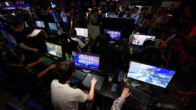 AOC Open Video Game Event As Japan's Strict Anti-gambling Laws Limit eSports