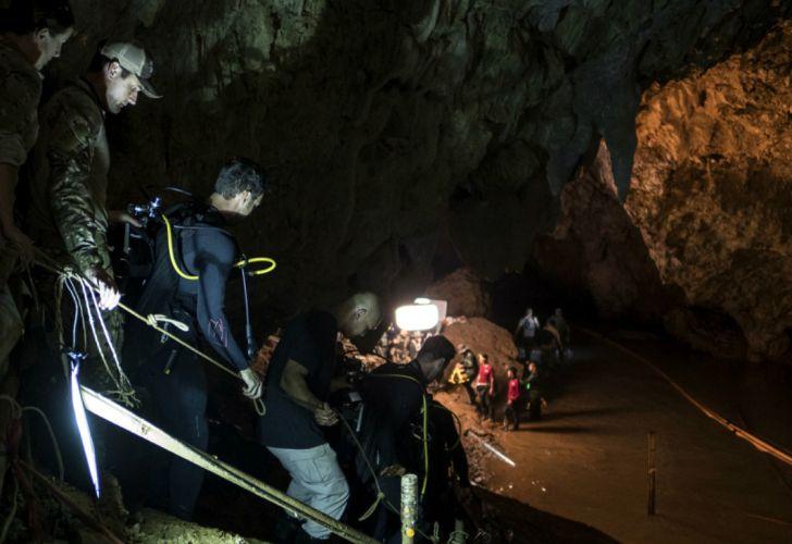 cueva tailandia pelicula museo 20180712