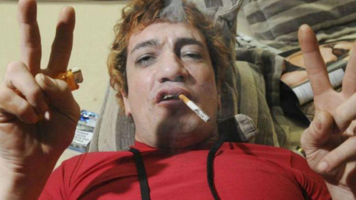 Argentine rockstar Cristian 'Pity' Álvarez.