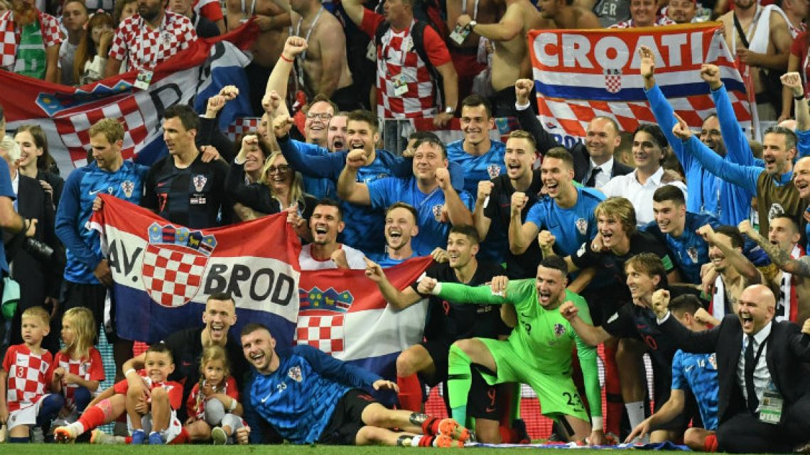 Croatia, an underdog and surprise that with talent was able to reach the final game.