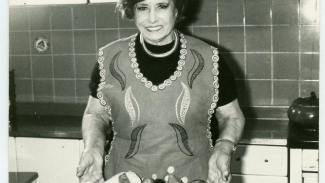 Legendary cook Doña Petrona.