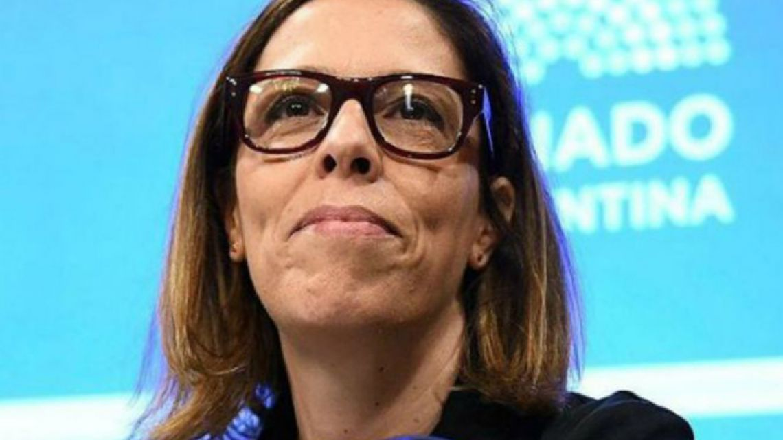 The head of Argentina's Anti-Corruption Office (OA) Laura Alonso.