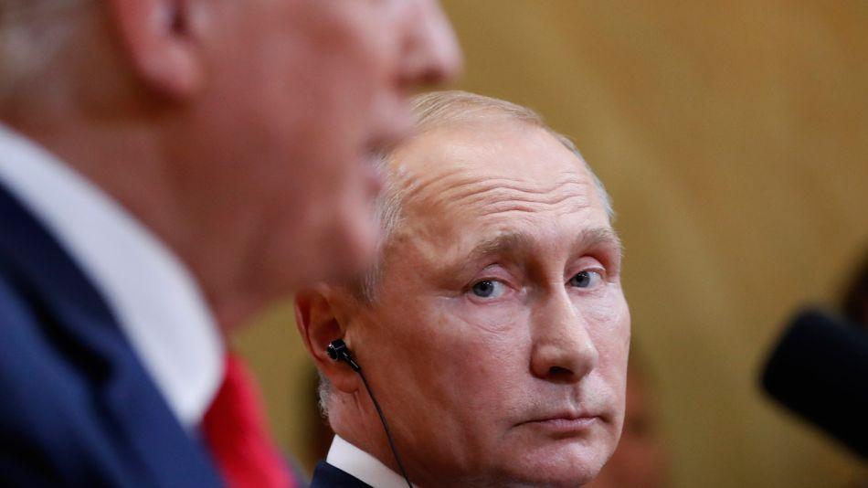 encuentro de Trump y Putin