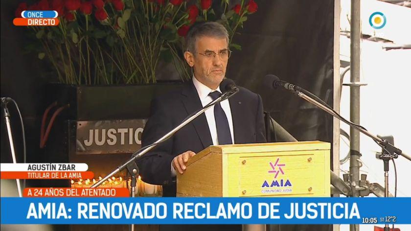 """El presidente de la AMIA acusó al kirchnerismo de querer """"cerrar la investigación"""""""