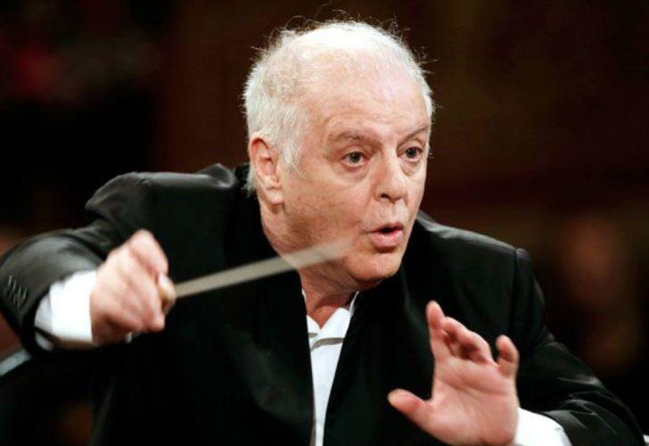 El pianista y director de orquesta, Daniel Barenboim.