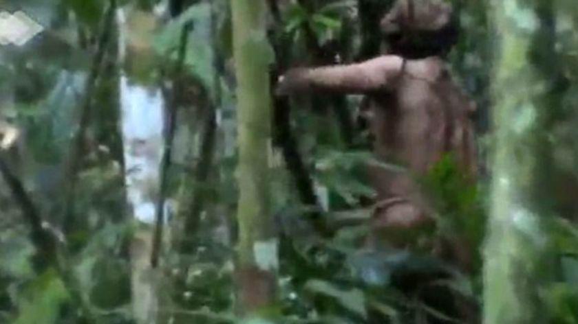 VIDEO IMPRESIONANTE: Captan al único sobreviviente de una tribu indígena amazónica