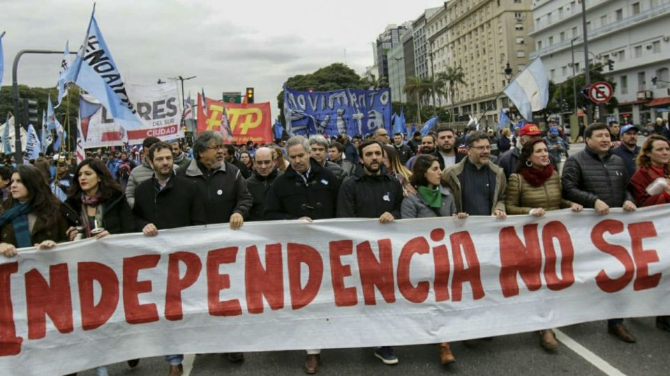 Este viernes están prevista varias concentraciones en la ciudad de Buenos Aires.