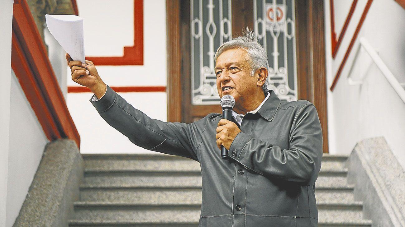 Lopez Obrador. El presidente mexicano tiene desafíos muy duros por delante.