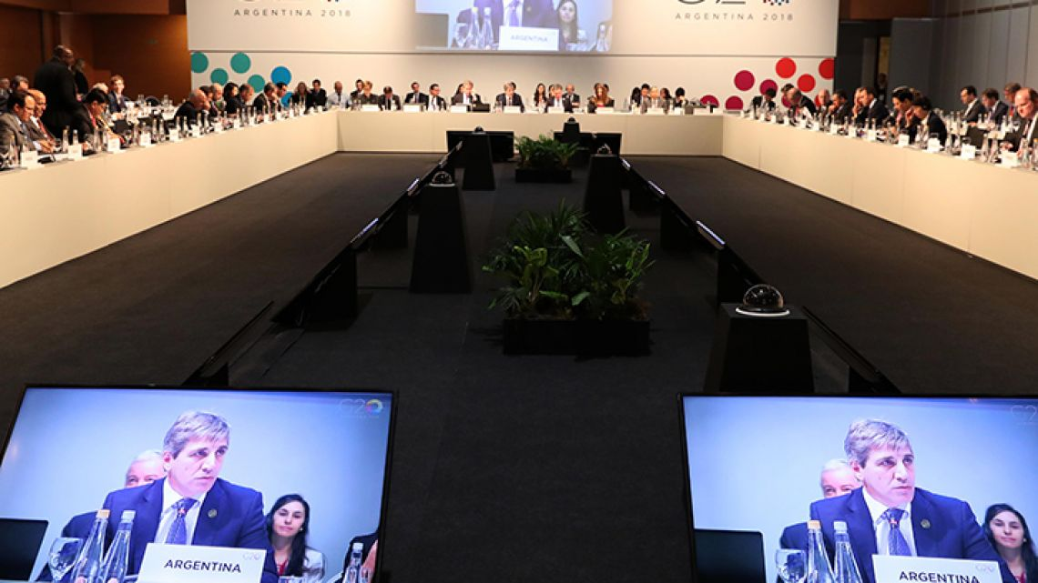 Buenos Aires hosted a summit of finance ministers and central bank governors from the G20 group of nations this weekend.
