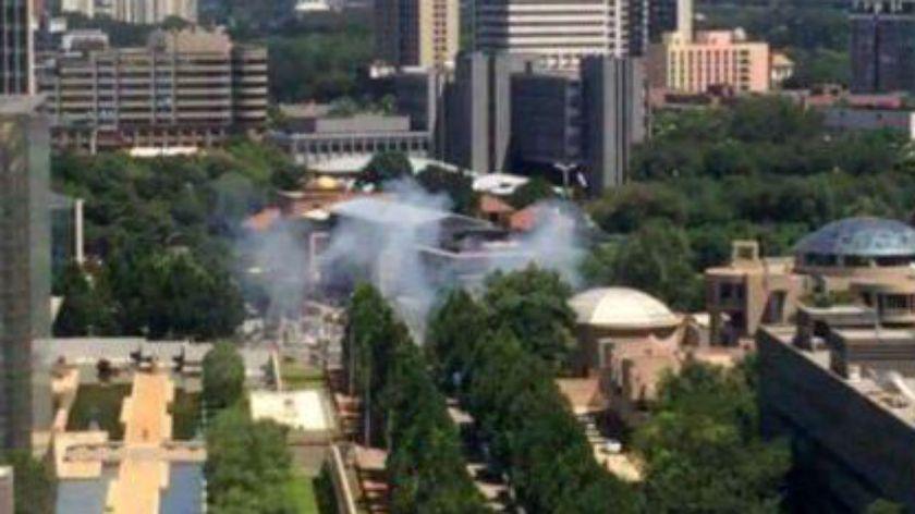 Reportan explosión en la embajada de EU en Pekín