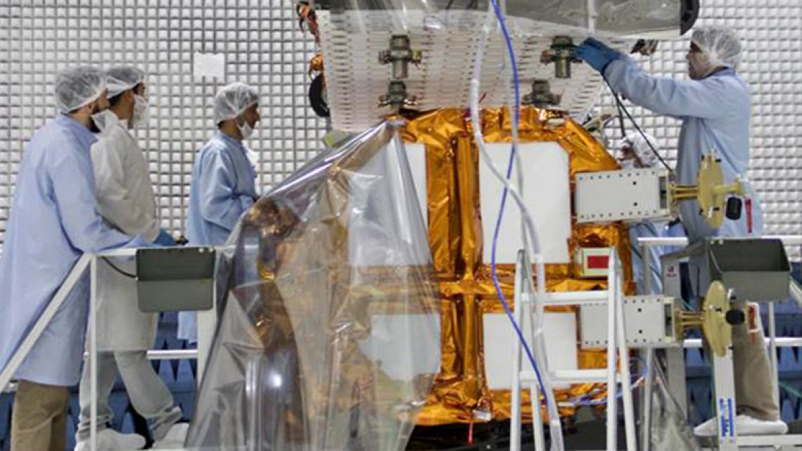 INVAP is Argentina's space and nuclear technology institute.