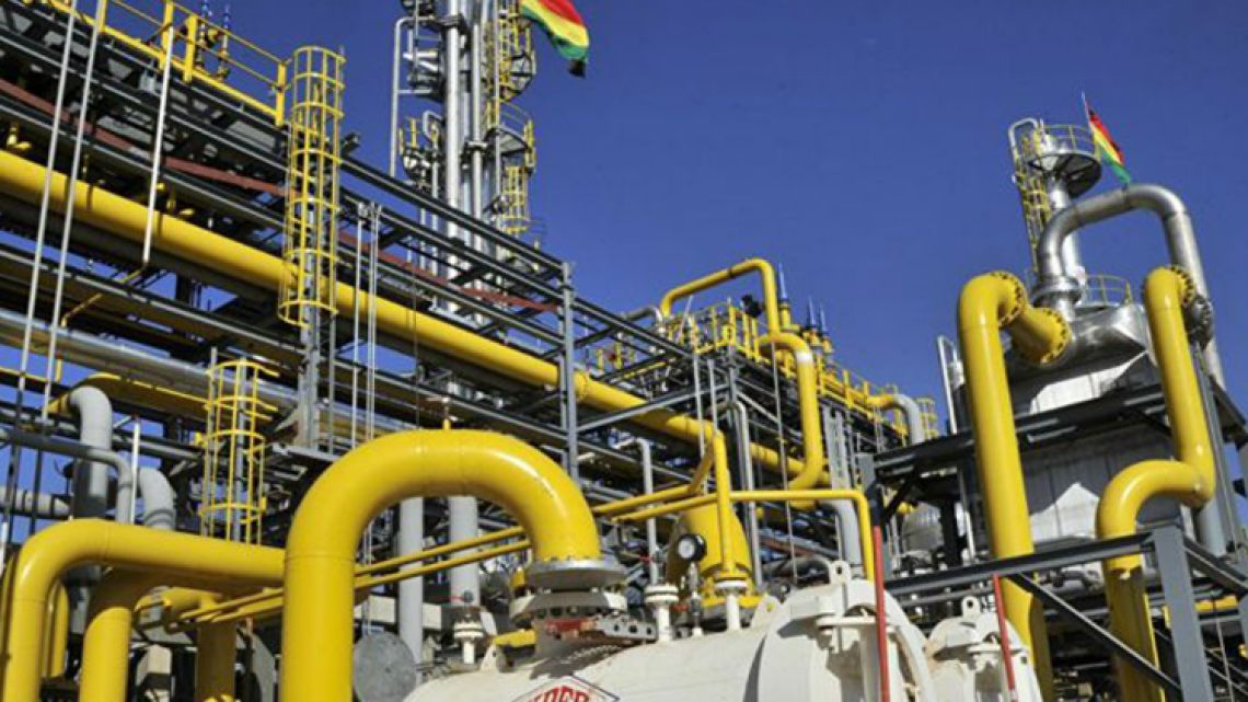 Bolivia is one of Latin America's biggest natural gas producers.