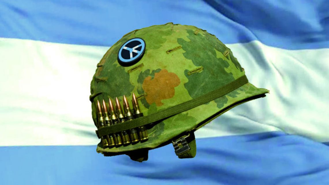 Macri's approach to the Armed Forces was highly questioned.