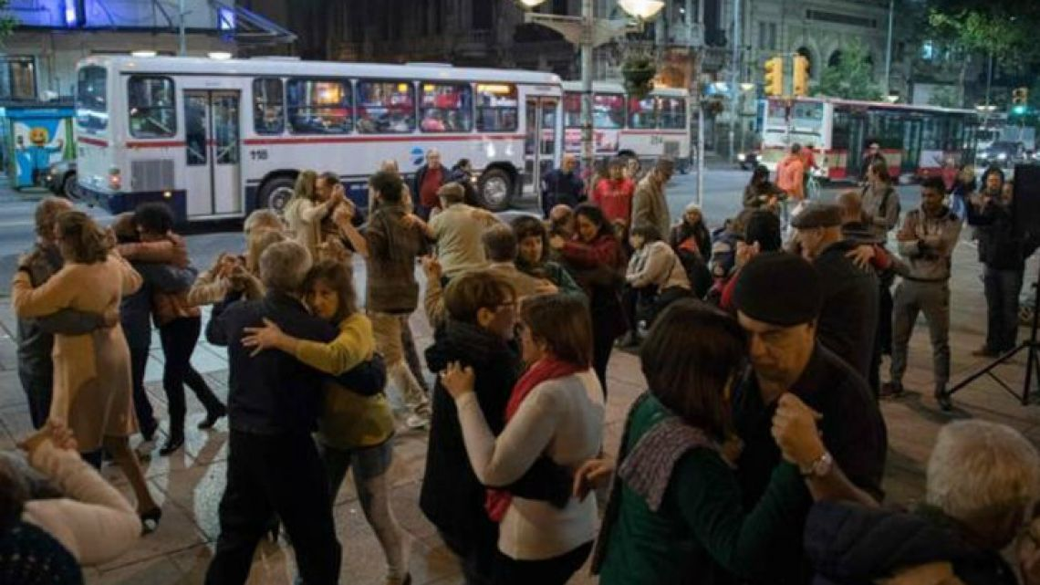 Afficionados in the Uruguayan capital fear the young have fallen out of love with tango.