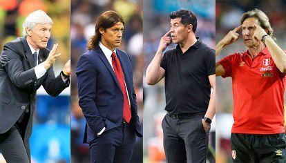 Candidatos operados. Pekerman es el preferido de Tapia, Almeyda se candidateó, Pochettino también tiene el ok de la AFA y Gareca está en disputa con Perú.