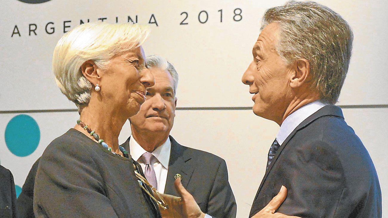 Margen. ¿Se relajarán las metas acordadas entre Macri y Lagarde, del FMI?