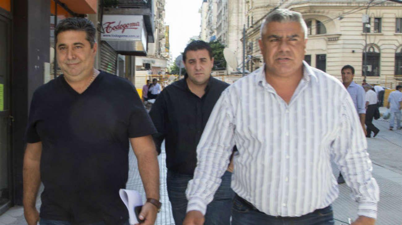 Daniel Angelici y Chiqui Tapia, los hombres fuertes de AFA.