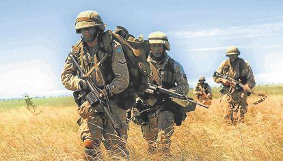 Militares. La experiencia muestra que es peligroso emplearlos contra el narcotráfico.