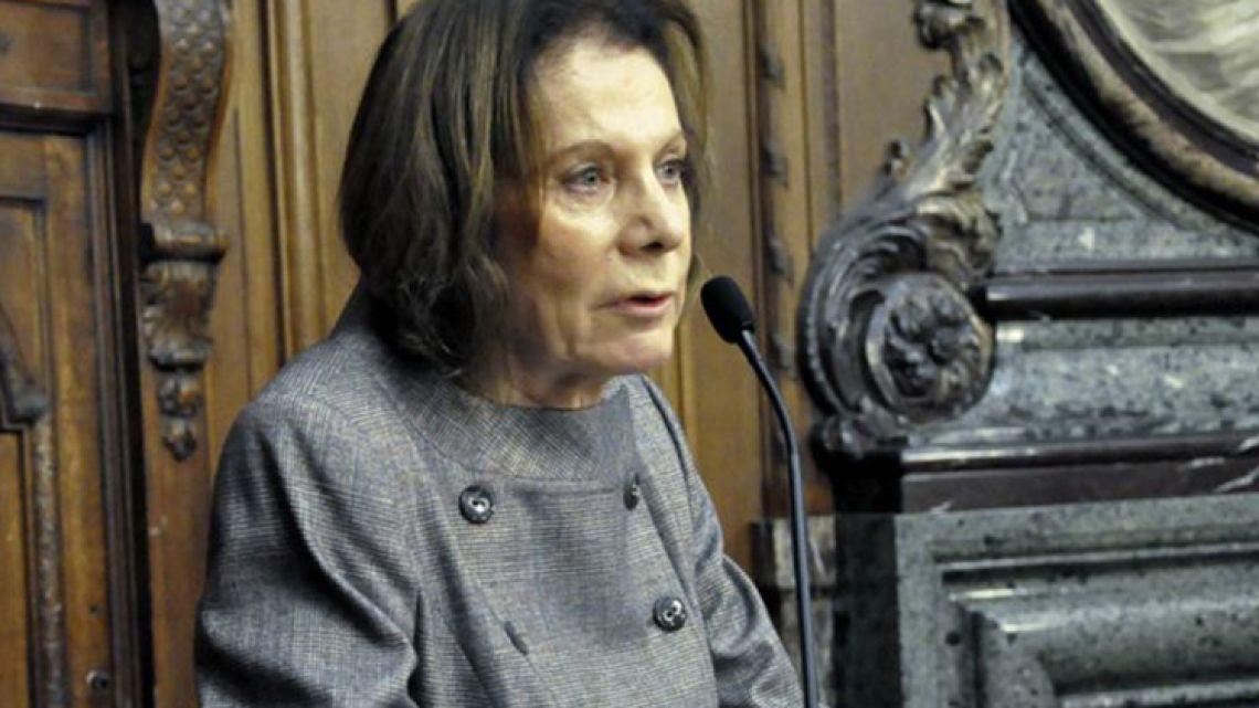 Judge Inés Weinberg de Roca.