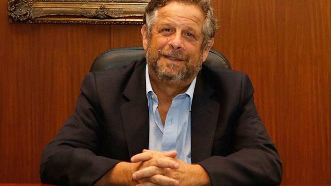 Argentina's Health Minister Adolfo Rubinstein.