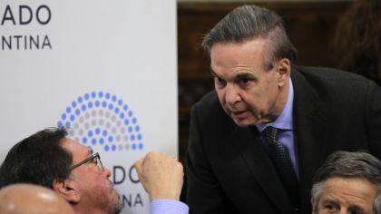 El senador Miguel Ángel Pichetto.