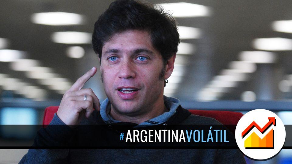 #Argentina Volatil, Axel Kicillof.