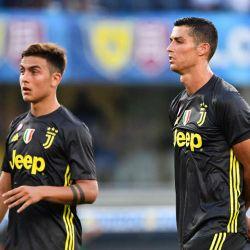 Paulo Dybala y Cristiano Ronaldo