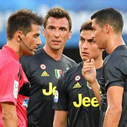 Dybala, Cristiano Ronaldo y Mandzukic
