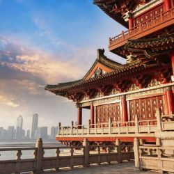 Beijing muestra lo antiguo y lo moderno de su arquitectura