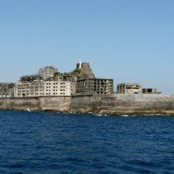 Hashima vista desde el mar_01