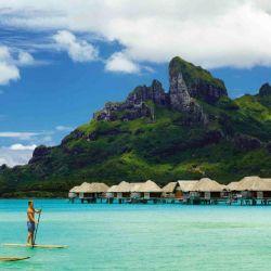 Stand Up Paddle frenta al 4 Seasons de Bora Bora